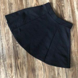 Divided Hidden skater Skirt